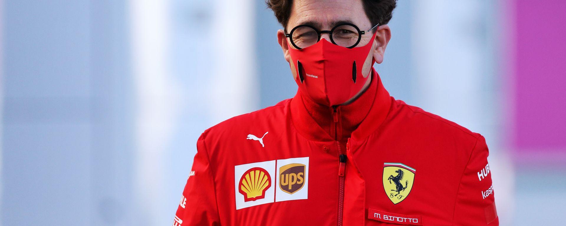 Il team principal della Ferrari, Mattia Binotto