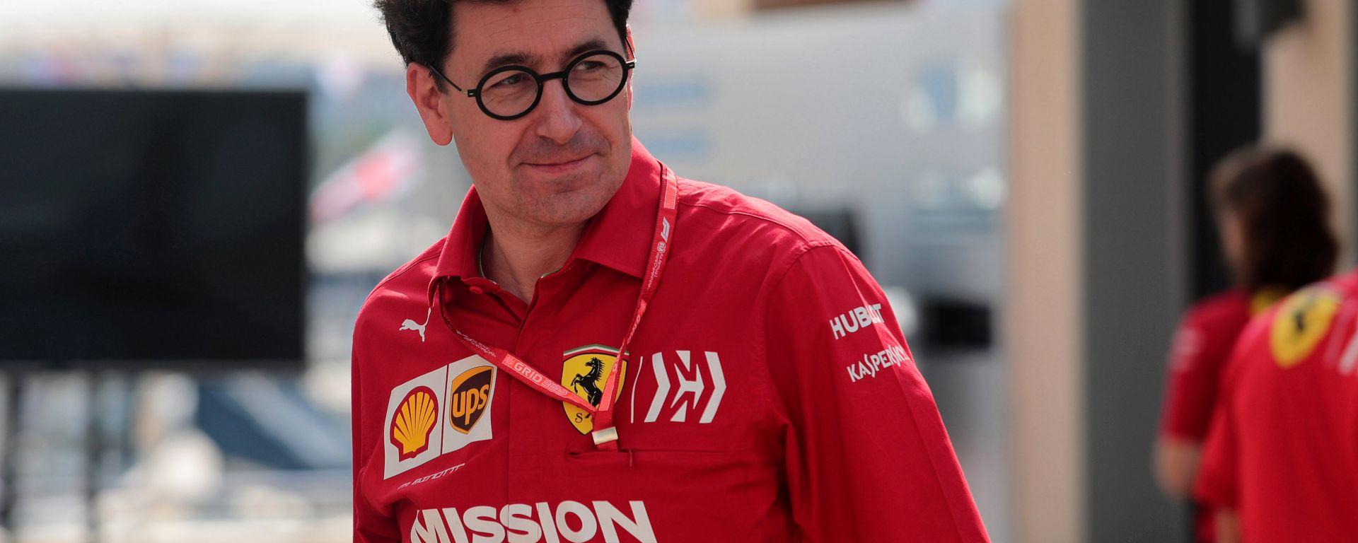 Il team principal della Scuderia Ferrari, Mattia Binotto