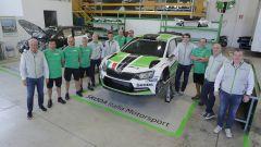 Il team Skoda Italia Motorsport 2016