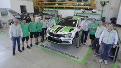 Il Team Skoda Italia Motorsport - Campionato Italiano Rally 2016