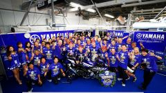 Il team Yamaha Factory Racing