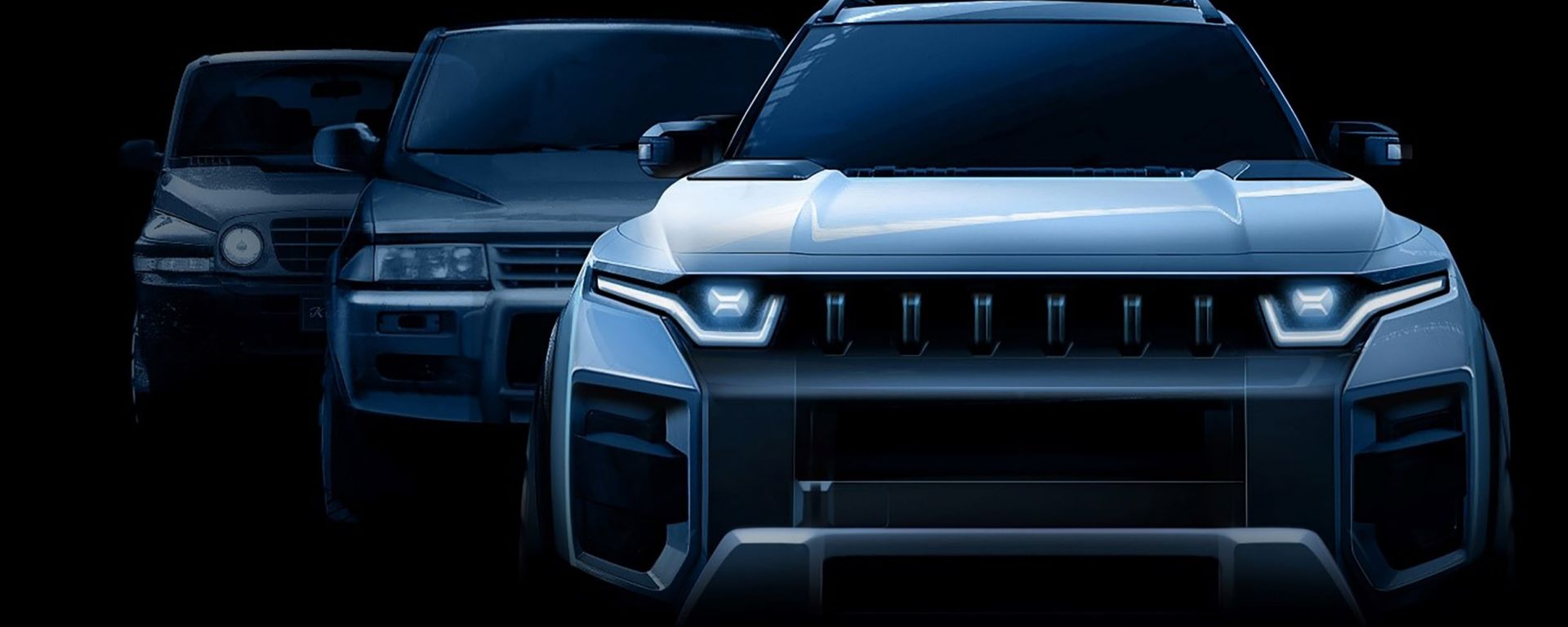 Il teaser del nuovo progetto SsangYong J100