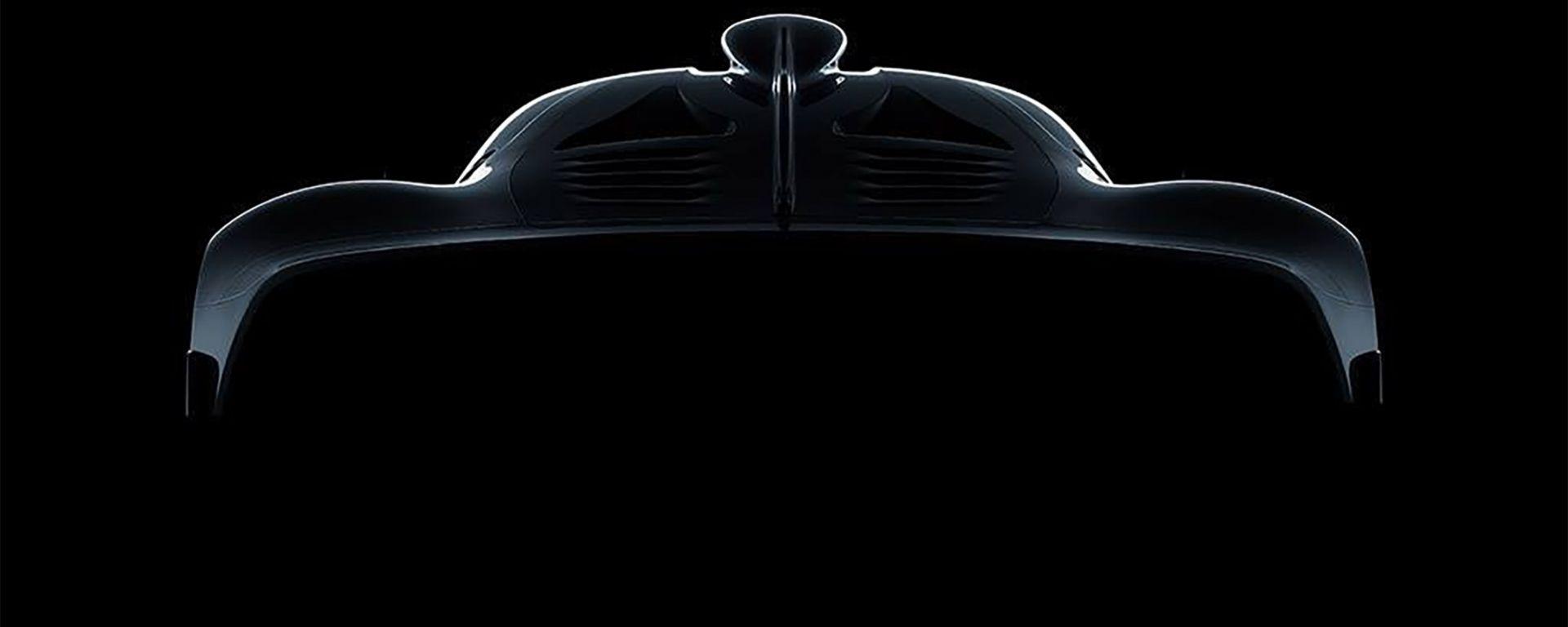 Il teaser della AMG Project One