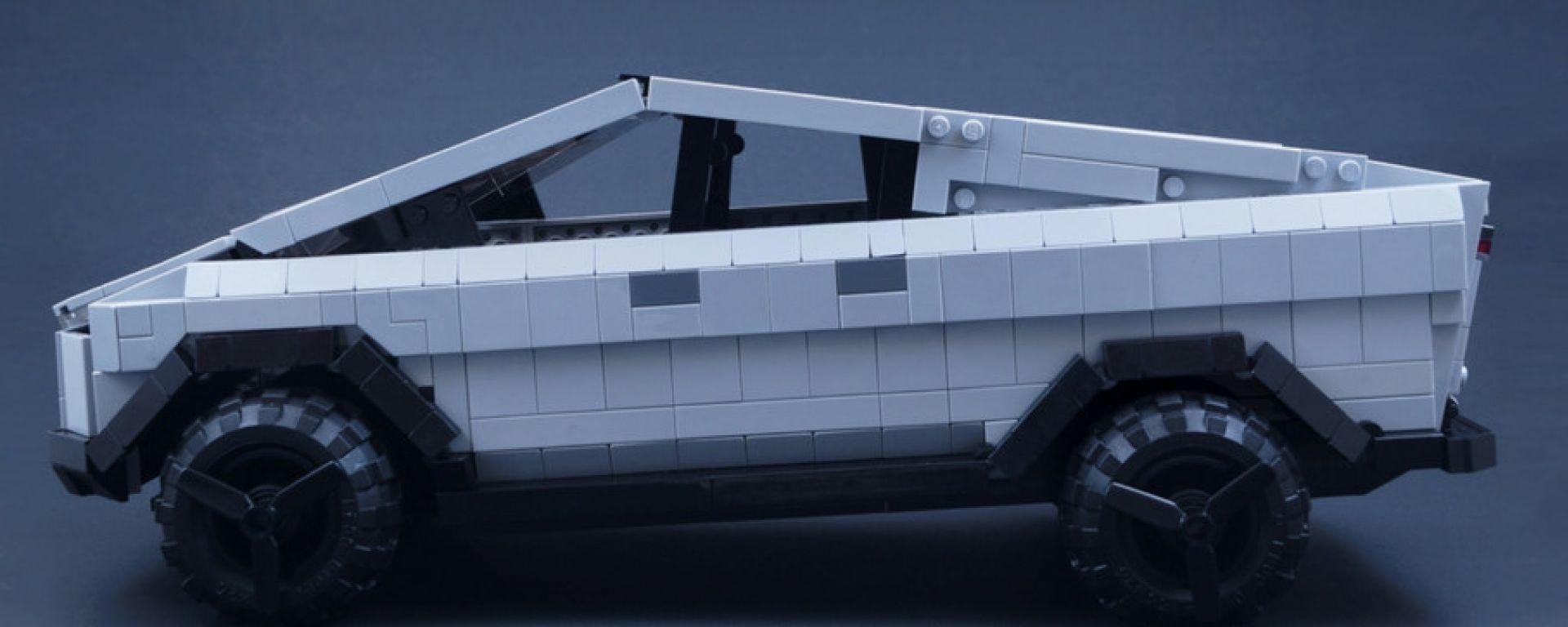 Il Tesla Cybertruck di Lego potrebbe diventare realtà