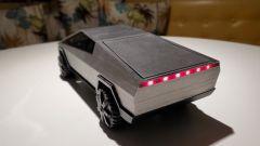 Il Tesla Cybertruck stampato in 3D: visuale di 3/4 posteriore
