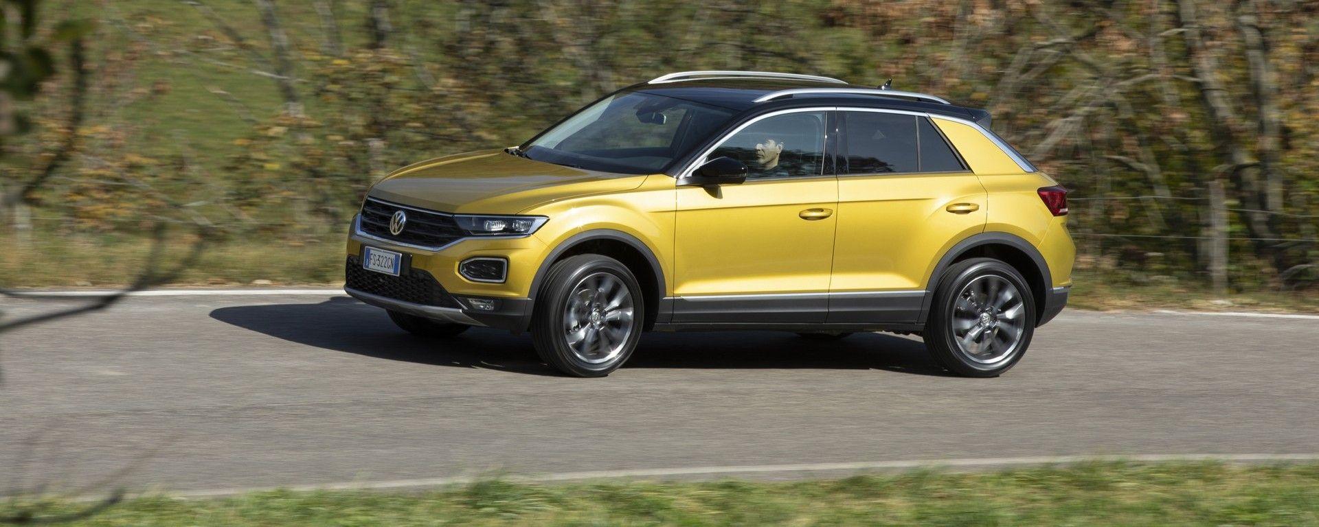 Il test della Volkswagen T-Roc 1.6 diesel