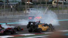 Il testacoda di Verstappen - F1 GP Abu Dhabi