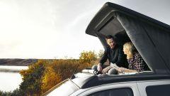 Il tetto a soffietto di Opel Zafira Life by Crosscamp