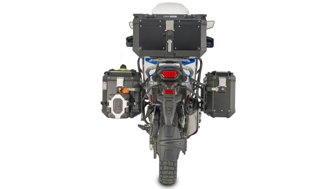 Il tris di valigie Givi per Honda Africa Twin 1100 Adventure Sport 2020