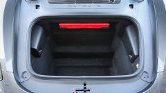 Il vano anteriore della Porsche 718 Cayman
