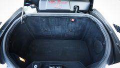 Il vano bagagli dell'Alfa Romeo 4C