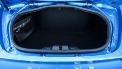 Il vano posteriore della Alpine A110