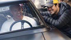 Il video backstage della scena più pazzesca del trailer di Fast & Furious 9