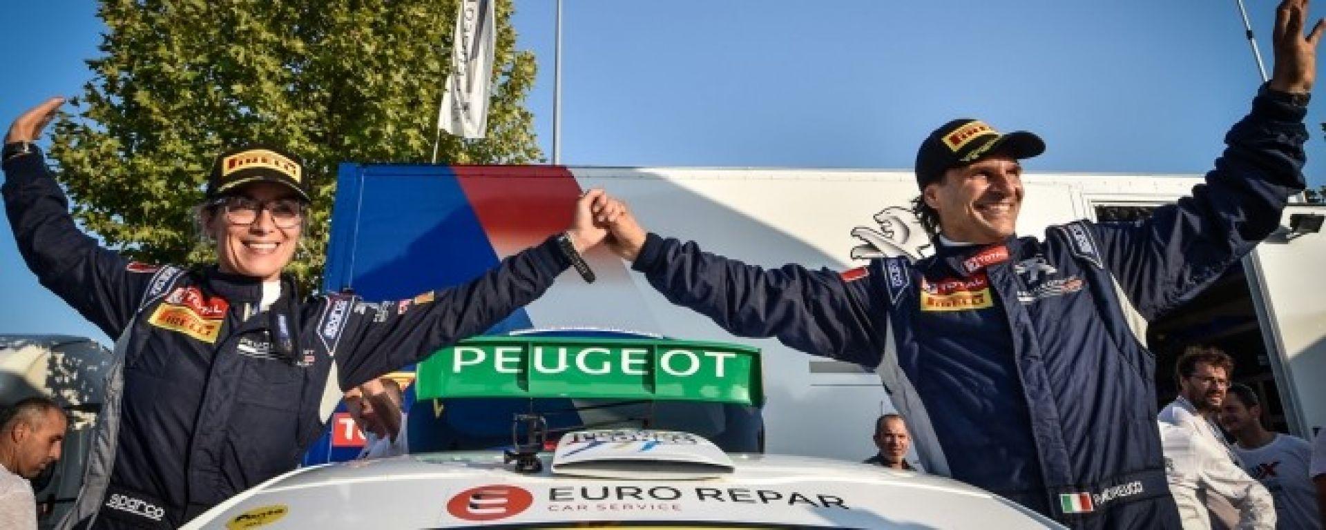 Il video di Peugeot Sport Italia per Andreucci - Andreussi