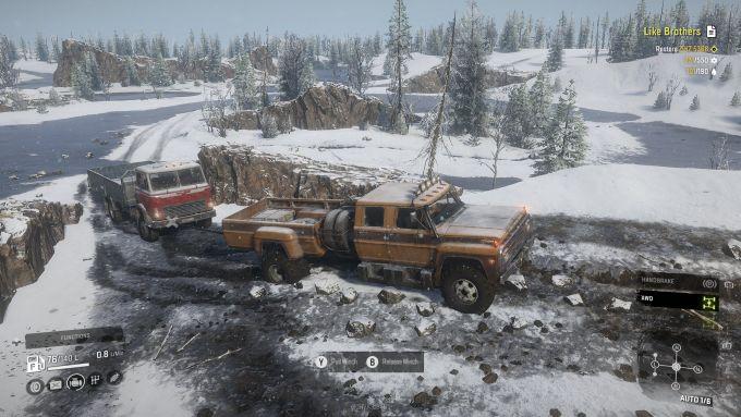Il videogioco Snowrunner