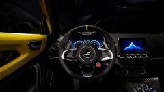 Il volante della Alpine A110 Color Edition