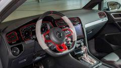 Il volante della Golf GTI Next Level è in puro stile racing
