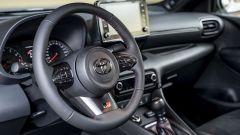 Il volante della Toyota GR Yaris