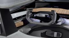 Il volante di Audi AI:ME a guida autonoma