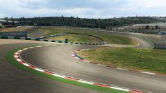 La frenata più impegnativa del GP Portogallo 2020, sulla pista di Portimao