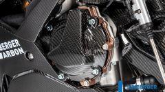 Ilmberger Carbon per BMW S 1000 RR 2019 stradale: dettaglio carter alternatore