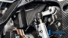 Ilmberger Carbon per BMW S 1000 RR 2019 stradale: dettaglio carter motore
