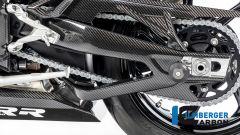 Ilmberger Carbon per BMW S 1000 RR 2019 stradale: dettaglio del forcellone