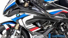 Ilmberger Carbon per BMW S 1000 RR 2019 stradale: i fianchi delle carene