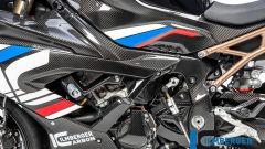 Ilmberger Carbon per BMW S 1000 RR 2019 stradale: protezioni per il telaio