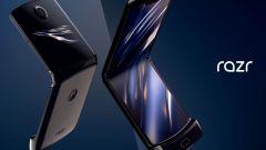 Immagine promozionale del Motorola Razr 2019