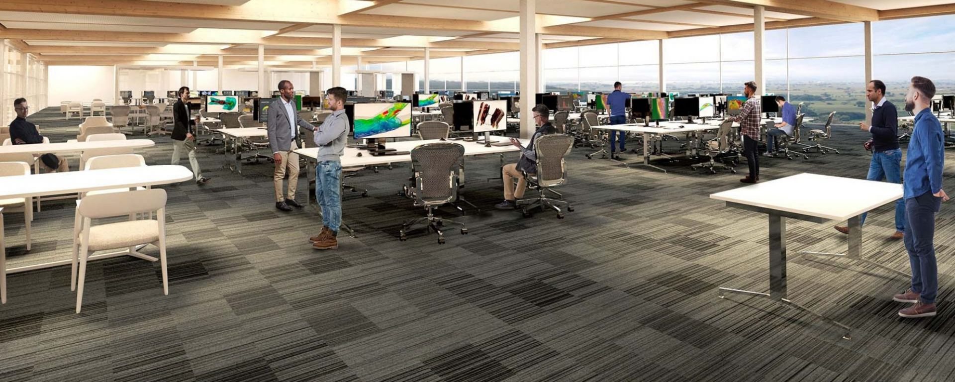 Immagini 3D della nuova futura sede inglese dell'Aston Martin F1 Team | Foto 1/3