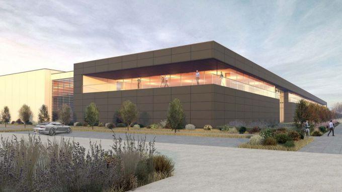 Immagini 3D della nuova futura sede inglese dell'Aston Martin F1 Team | Foto 3/3