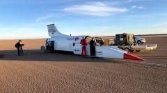 Immagini backstage del land speed record di Bloodhound