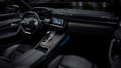 Immagini di interni della nuova Peugeot 508