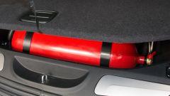 Impianti Dual Fuel by Automotive Solutions e Autogas Italia, 3 serbatoio di metano da 13 kg totali