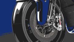 Impianto frenante Brembo MotoGP Yamaha