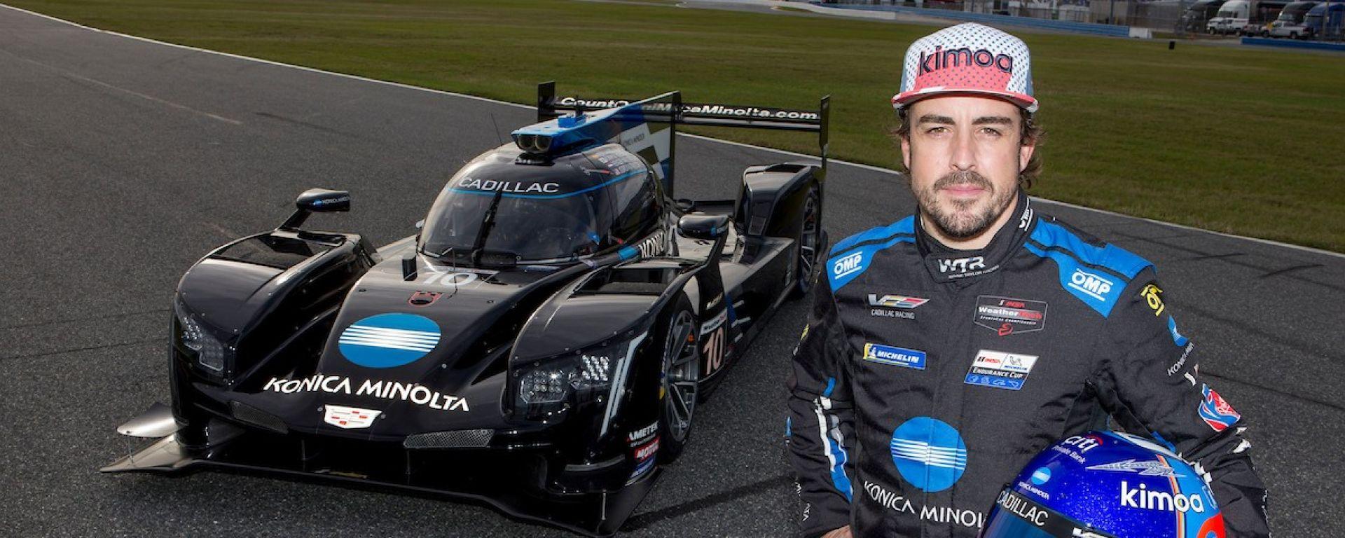 """Alonso fiducioso dopo la """"Roar Before Daytona 24"""""""