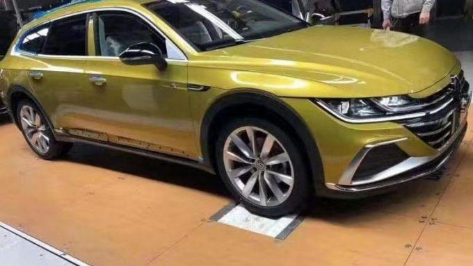 In arrivo la versione shooting brake della Volkswagen Arteon?