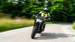 In azione con la Kawasaki Z900