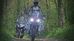 In fuoristrada con BMW R 1200 GS Adventure e Ducati Multistrada 1200 Enduro