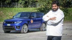 In pista a Monza con lo Chef Antonino Cannavacciuolo con Range Rover Sport SVR - Immagine: 10