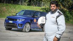 In pista a Monza con lo Chef Antonino Cannavacciuolo con Range Rover Sport SVR - Immagine: 12