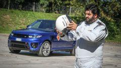 In pista a Monza con lo Chef Antonino Cannavacciuolo con Range Rover Sport SVR - Immagine: 13