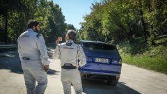 In pista a Monza con lo Chef Antonino Cannavacciuolo con Range Rover Sport SVR - Immagine: 53