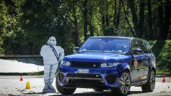 In pista a Monza con lo Chef Antonino Cannavacciuolo con Range Rover Sport SVR - Immagine: 67