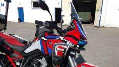 In Polonia una Honda Africa Twin 1100 diventa una moto ambulanza per le emergenze