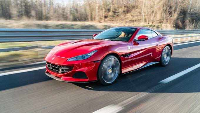 In prova con la Ferrari Portofino M