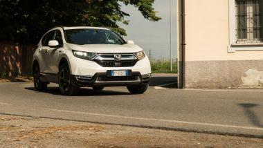 In prova con la Honda CR-V Hybrid 2019