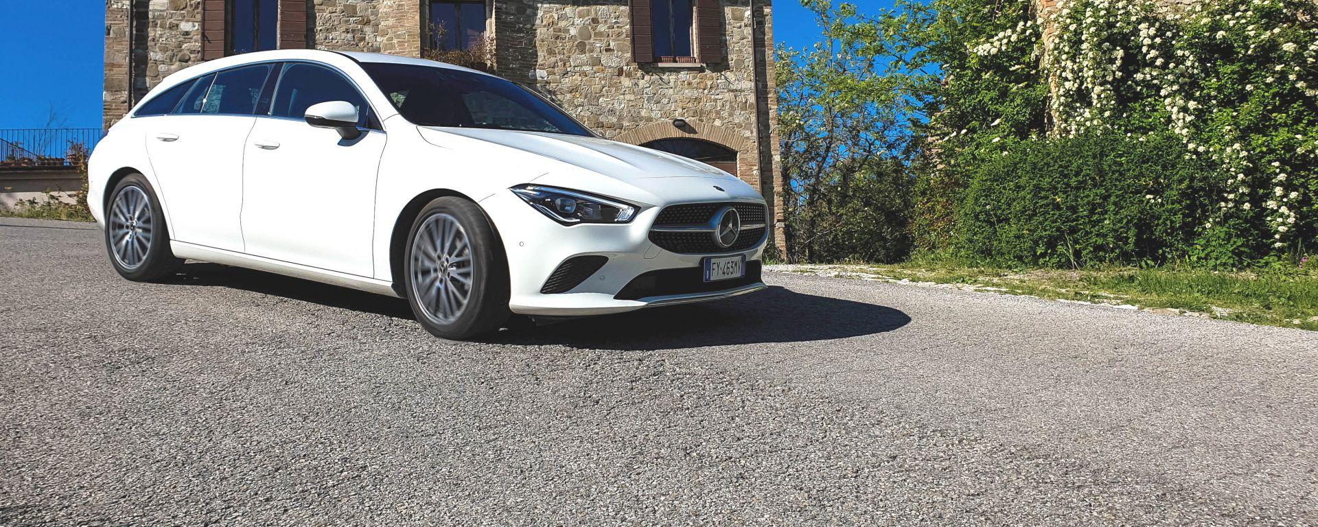 In prova con la Mercedes CLA Shooting Brake