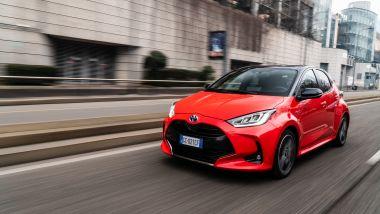 In prova con la Toyota Yaris Hybrid